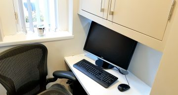 Under Stairs Micro Office